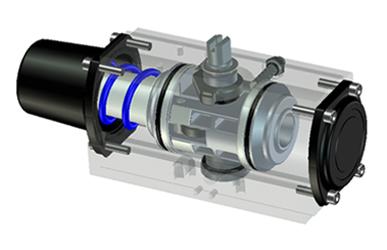 KOSA-PLUS - Electric actuator - THIẾT BỊ TRUYỀN KHÍ NÉN, MODEL : AD/AS(scotch yoke)