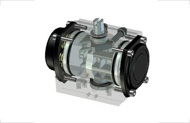 KOSA-PLUS - Electric actuator - THIẾT BỊ TRUYỀN KHÍ NÉN, MODEL : RD/RS(rack pinion)